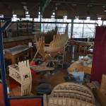 Rotterdams Welvaren De Delft timmermanswerkplaats
