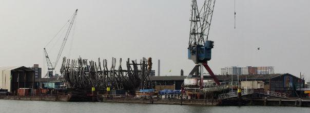 Historische werf Rotterdams Welvaren De Delft