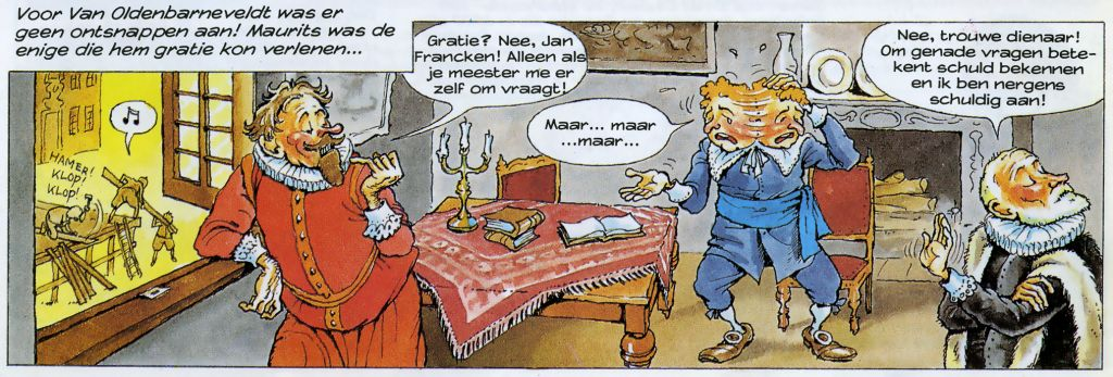 Van nul tot nu executie Oldenbarnevelt Maurits 13 mei 1619