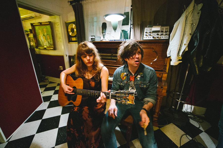 Jenny Lewis Ryan Adams Pax Am Studio The Voyager
