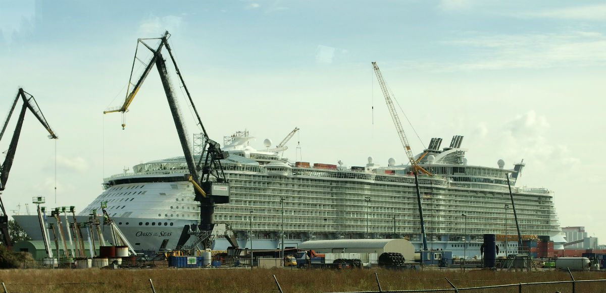 Oasis of the Seas Keppel Verolme Rozenburg