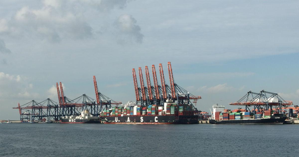 Tweede Maasvlakte Euromax Terminal Rotterdam