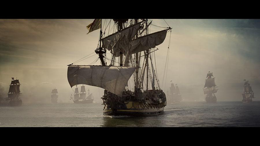 Michiel de Ruyter film zeeslag