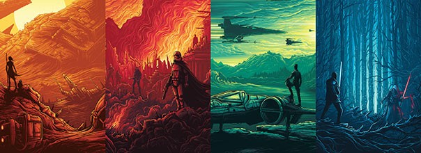 The Force Awakens Star Wars IMAX posters
