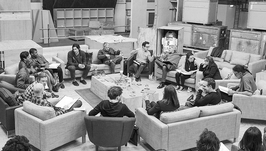 The Force Awakens Star Wars J.J. Abrams cast crew