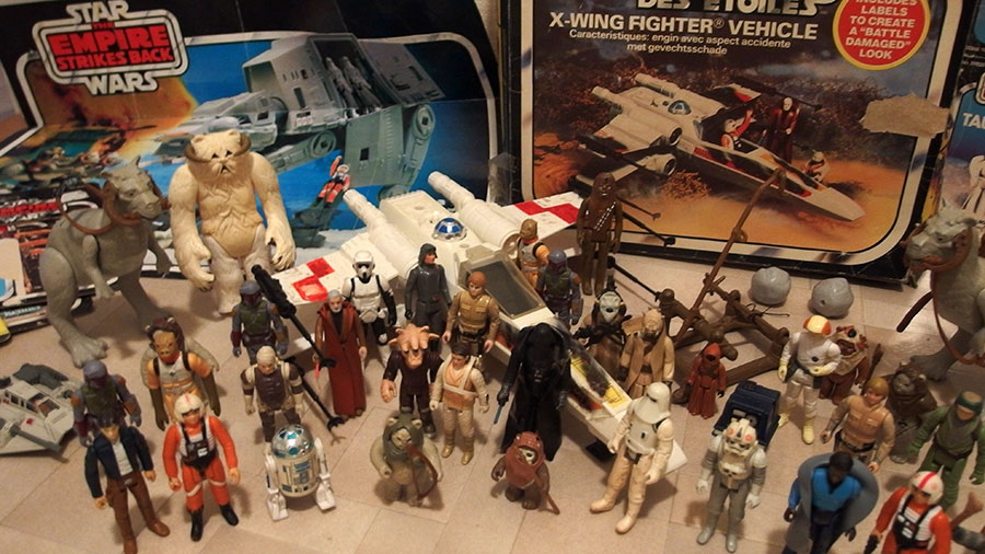 The Force Awakens Star Wars Kenner toys