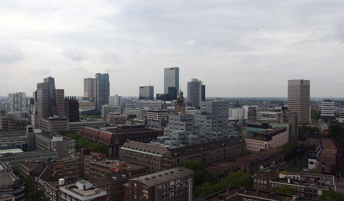 Uitzicht Rotterdam Dakendagen Laurenskerk Central District statinskwartier