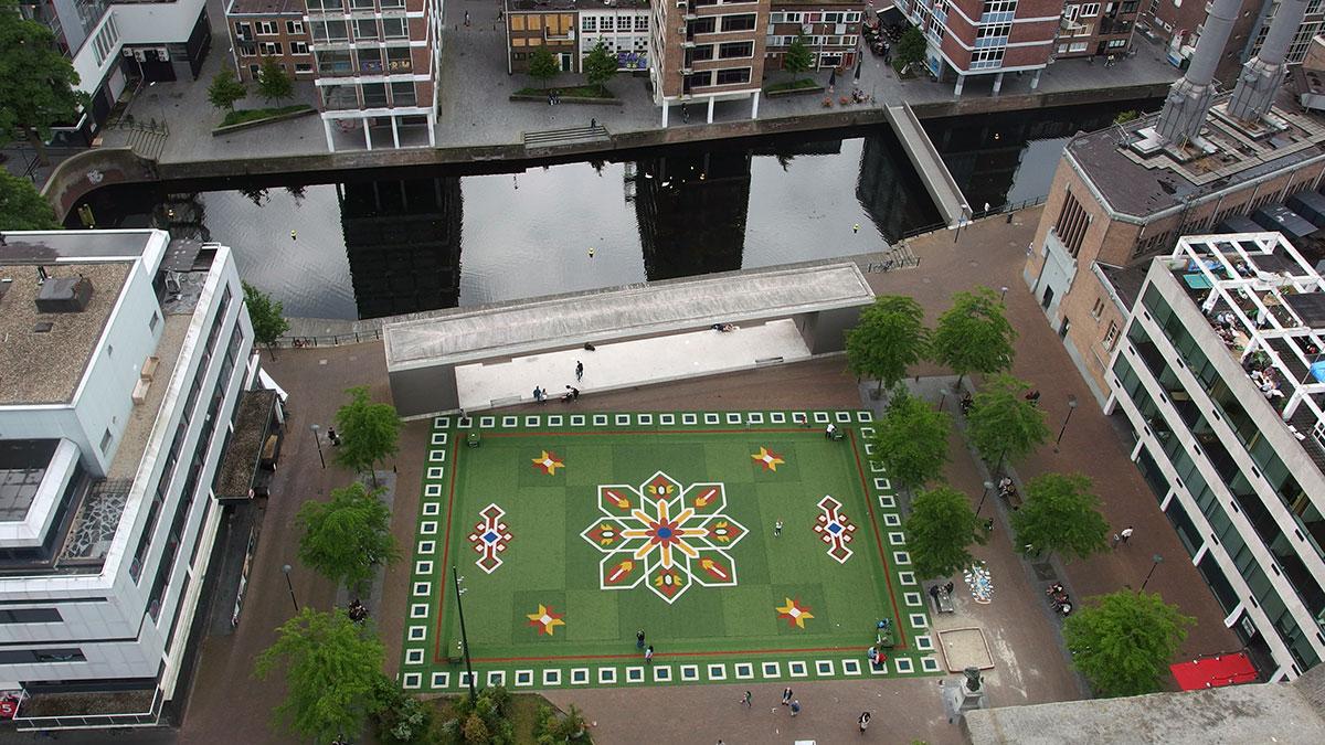 Uitzicht Rotterdam Dakendagen Laurenskerk Grotekerkplein Erasmus