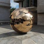 Trinity College Dublin Sphere Within Sphere Arnaldo Pomodoro