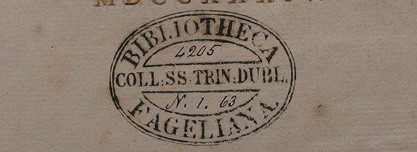 Fagel-collectie Trinity College Dublin bibliotheek