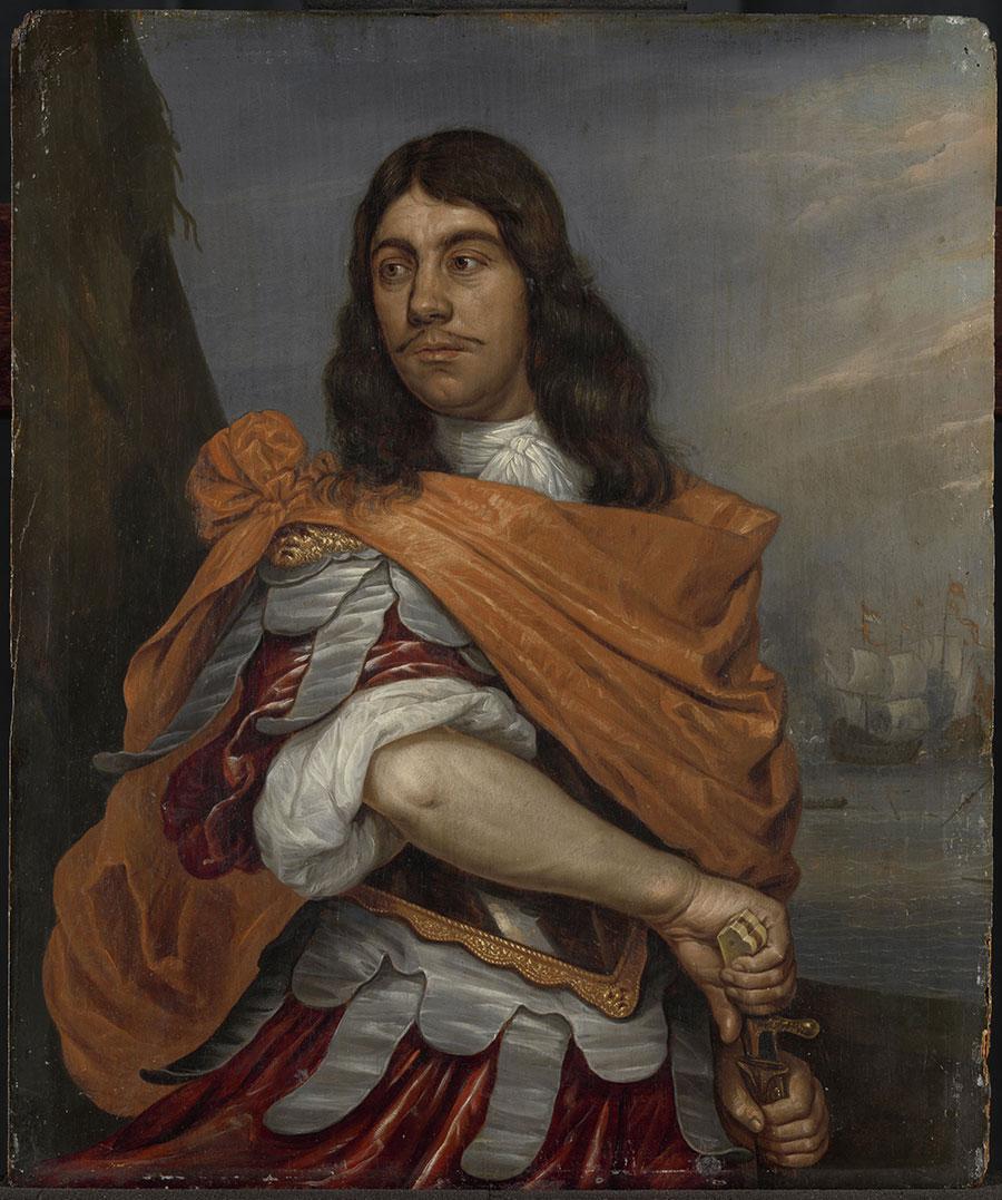 Cornelis Tromp correspondentie Johan de Witt Huygens Instituut voor Nederlandse Geschiedenis Rijksmuseum