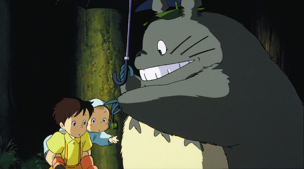 Studio Ghibli Netflix My Neighbour Totoro