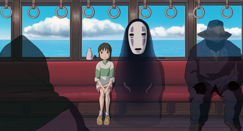 Studio Ghibli Netflix Spirited Away